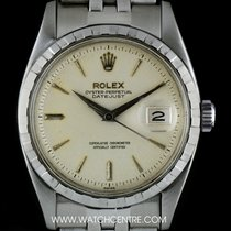 Rolex Stainless Steel O/P Silver Dial Vintage Datejust 6605