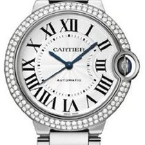 Cartier Ballon Bleu Automatic White Gold Diamonds WE9006Z3