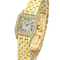 Cartier WF9001Y7 Santos Demoiselle - Small Size - Yellow Gold...