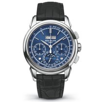 Patek Philippe Grand Complications Blue Chronograph White Gold...
