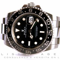 Rolex Oyster Perpetual Date GMT Master II in acciaio Nero AUT