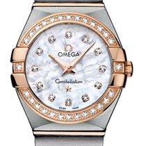 Omega Constellation Brushed 24mm 123.25.24.60.55.001
