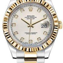 Rolex Oyster Perpetual Datejust II 116333 Ivory Diamond