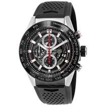 TAG Heuer Carrera Calibre Heuer 01 Automatic Skeleton Dial...