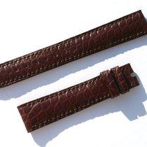 萧邦 (Chopard) Croco Armband Band Strap Braun Brown 16 Mm 70/105...