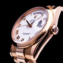 Rolex Day Date President 18k Everose Rosegold Full Set LC100