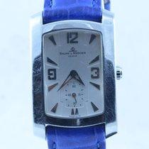 Baume & Mercier Herren Uhr Hampton Milleis 28mm Stahl/stah...