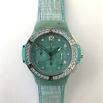 Hublot Big Bang Turquoise Linen 341.XL.2770.NR.1237