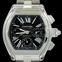 Cartier Roadster Xl Chronograph Black Dial Automatic 2618