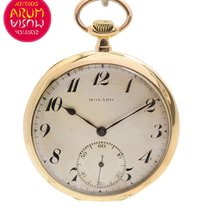 Movado Pocket Watch 18K Gold