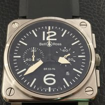 Bell & Ross BR 03-94 stainless steel box and papers