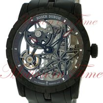 Roger Dubuis Excalibur 42mm Automatic, Skeleton Dial - Black...