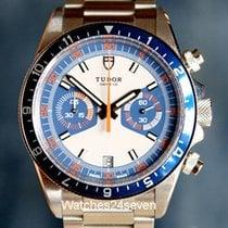 Tudor Heritage Chronograph Blue & White Dial on Bracelet...