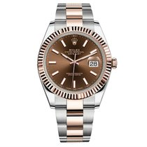 Rolex Datejust II Steel and Rose Gold 41mm Watch