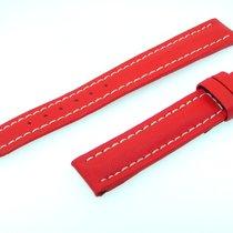 Breitling Band 15mm Kalb Rot Red Roja Calf Strap Für Dornschli...