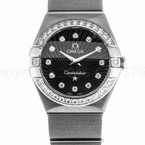 Omega 123.15.24.60.51.001 Constellation Women's Diamonds...