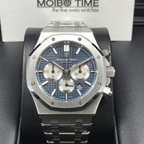 Audemars Piguet 26331ST Royal Oak Automatic 41mm Blue Dial...