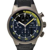 IWC Aquatimer Chronograph  371918 Automatic Titanium black dial