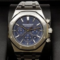 Audemars Piguet 26320ST Royal Oak Automatic 41mm Blue Dial...