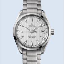 Omega Aqua Terra Stahl 150M 41,5 mm weiß  -NEU-