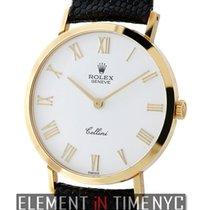 Rolex Cellini 18k Yellow Gold Dress Watch 32mm Circa 1995 Ref....