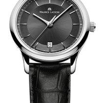 Maurice Lacroix Les Classique Date Quartz Black Dial, Black...