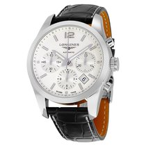 Longines Men's L27864763 Conquest Classic Chronograph Watch