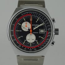 Breitling NEW Sicura (Breitling) Chronograph (year 1979)...