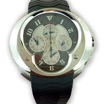 Franc Vila Esprit Unique Titanium and Stainless Steel Men'...