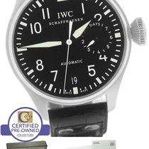 IWC Big Pilot Black 7-Day 46mm 5004 5004-01 IW500401 Stainless