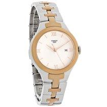Tissot T-12 Ladies Two Tone Swiss Quartz Watch T082.210.22.038.00