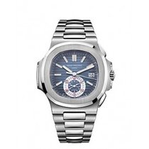 Patek Philippe NAUTILUS 5980 RARE BLUE DIAL DISCONTINUED MODEL...