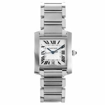Cartier Tank Francaise Automatic Watch W51002Q3 (Pre-Owned)