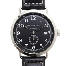 Hamilton 卡其海軍系列 Stainless Steel Black Automatic H78415733