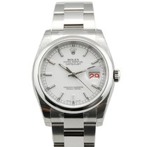 Rolex DateJust Stainless Steel White Dial-116200