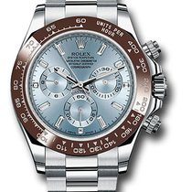 Rolex 116506 id Daytona  Ice Bue Dial with 11 Baguette Diamond