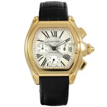 Cartier Roadster Chrono Yellow Gold W62021Y3