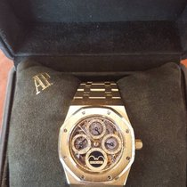Audemars Piguet ROYAL OAK GOLD PERPETUAL CALENDAR ESQUELETON