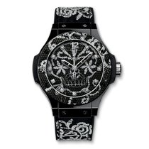 Hublot Big Bang 41mm Broderie Ceramic Limited Edition Ladies...