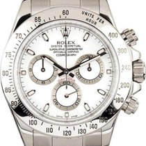 Rolex Daytona 116520 White Dial & Steel Case With Box And...