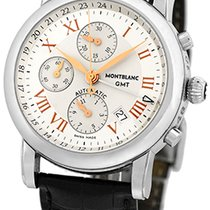 "Montblanc ""Star Chronograph GMT"" Strapwatch."