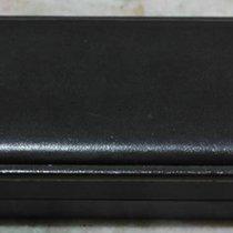 Eberhard & Co. vintage watch box leather brown men's...