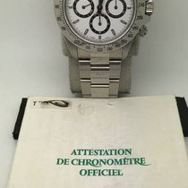 Rolex 16520 Daytona White dial T series With Guarantee Papers