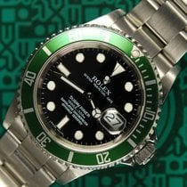 Rolex Submariner 16610LV Kermit D-serial 2005