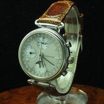 Orator Edelstahl Automatic Vollkalender Mondphase Chronograph...
