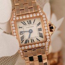 Cartier Santos Demoiselle WF9008Z8 Original Diamonds