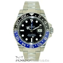 Rolex GMT-Master II Blue/Black Ceramic Bezel