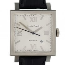 Louis Erard La Carre Big Date Stahl Automatik 39x39mm