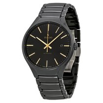 Rado Men's R27056162 True Black Dial Black Ceramic Watch