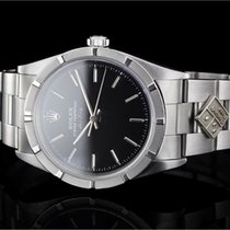 Rolex Air-King (34mm) Ref.: 14010 aus 1998 mit schwarzem...